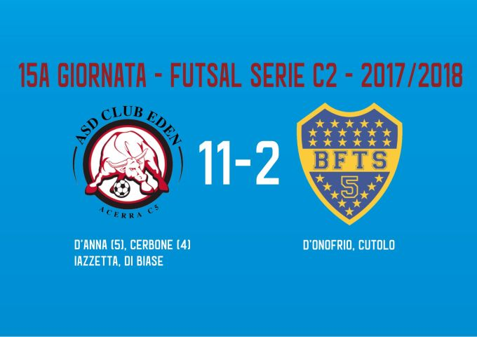 Gli highlights di Club Eden vs Boca Futsal