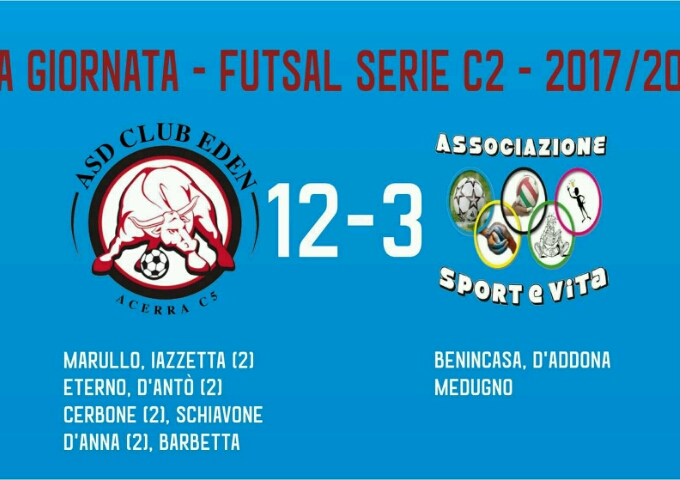 Gli highlights di Club Eden vs Sport&Vita