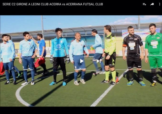 VIDEO - Gli Highlights di Leoni vs Acerrana FC