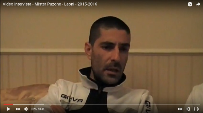 ESCLUSIVA - Video Intevista Mister Puzone - Leoni